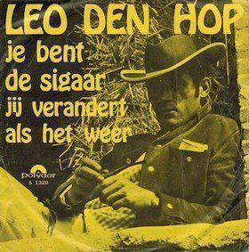 Coverafbeelding Je Bent De Sigaar - Leo Den Hop