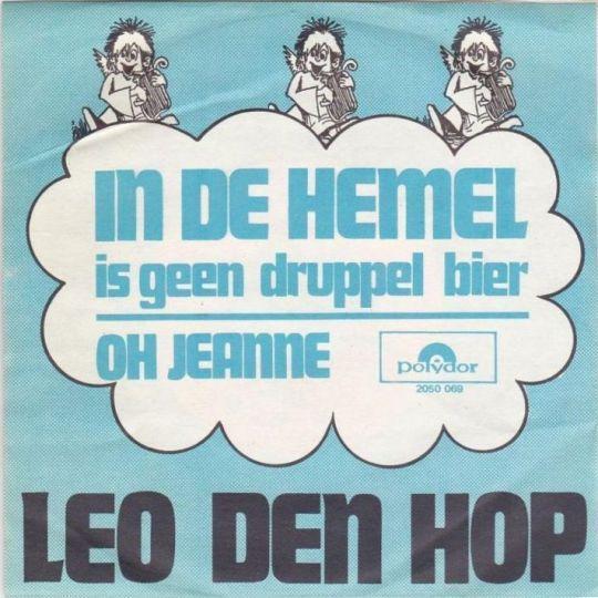Coverafbeelding In De Hemel Is Geen Druppel Bier - Leo Den Hop