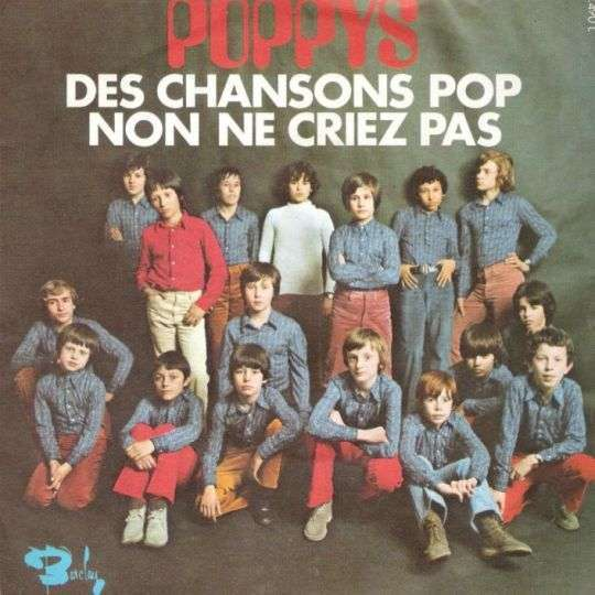 Coverafbeelding Des Chansons Pop - Poppys