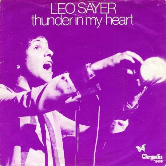 Coverafbeelding Thunder In My Heart - Leo Sayer