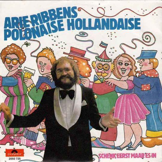 Coverafbeelding Polonaise Hollandaise - Arie Ribbens