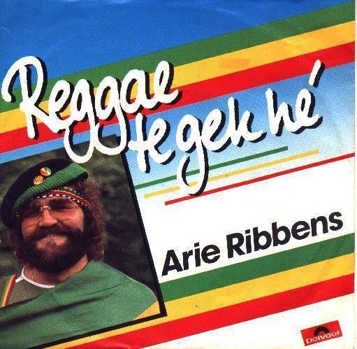 Coverafbeelding Reggae Te Gek Hé - Arie Ribbens