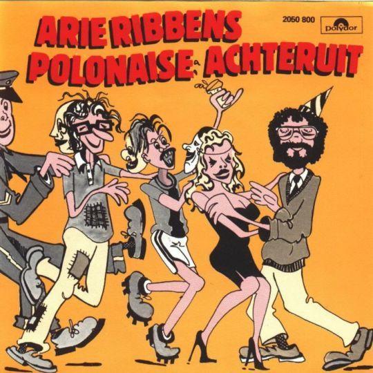 Coverafbeelding Polonaise Achteruit - Arie Ribbens