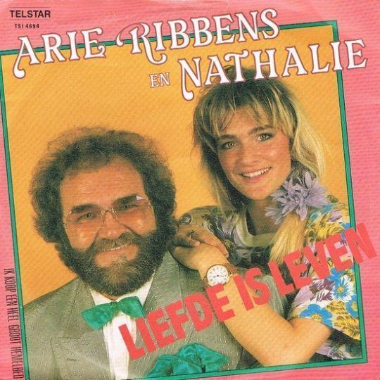 Coverafbeelding Liefde Is Leven - Arie Ribbens En Nathalie