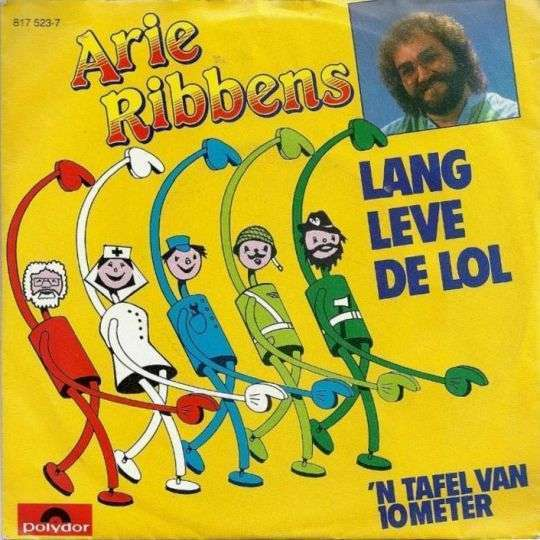 Coverafbeelding Lang Leve De Lol - Arie Ribbens