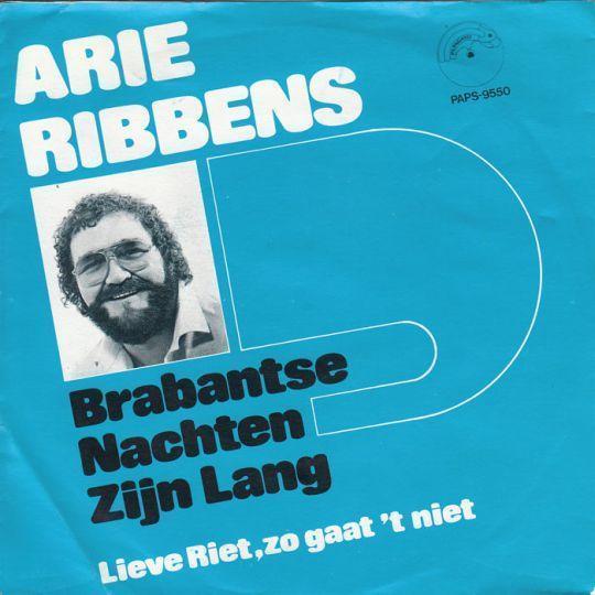 Coverafbeelding Arie Ribbens - Brabantse Nachten Zijn Lang