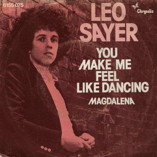 Coverafbeelding Leo Sayer - You Make Me Feel Like Dancing
