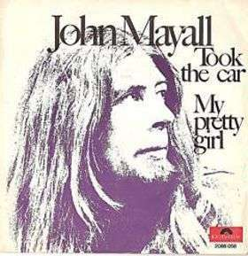 Coverafbeelding Took The Car - John Mayall