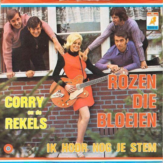 Coverafbeelding Rozen Die Bloeien - Corry En De Rekels