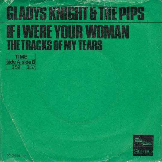 Coverafbeelding If I Were Your Woman - Gladys Knight & The Pips