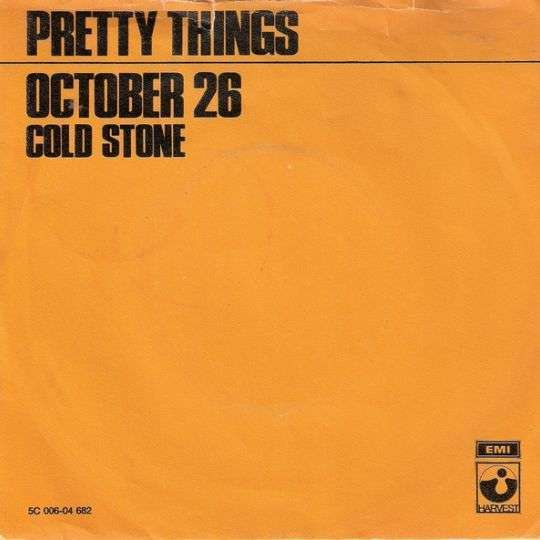 Coverafbeelding October 26 - Pretty Things