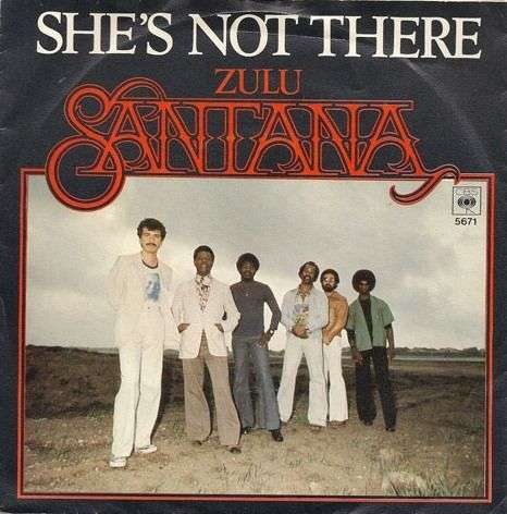 Coverafbeelding She's Not There - Santana
