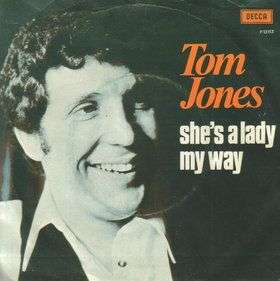 Coverafbeelding She's A Lady - Tom Jones