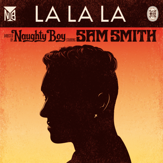 Coverafbeelding naughty boy starring sam smith - la la la