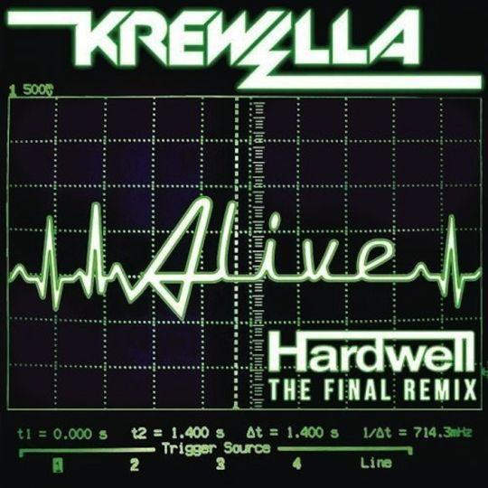 Coverafbeelding krewella & hardwell - alive - the final remix