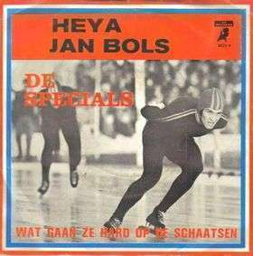 Coverafbeelding Heya Jan Bols - De Specials ((Nld))