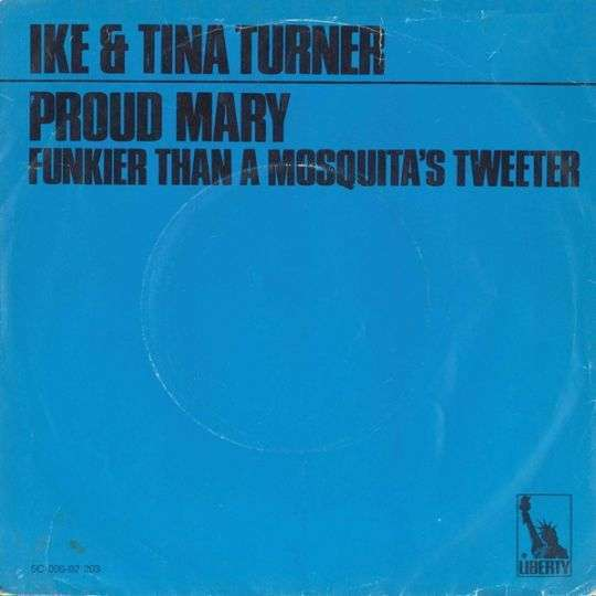 Coverafbeelding Ike & Tina Turner - Proud Mary