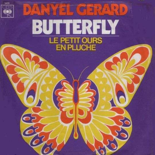 Coverafbeelding Danyel Gerard - Butterfly