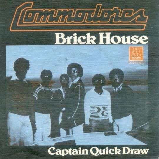 Coverafbeelding Brick House - Commodores