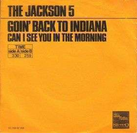 Coverafbeelding Goin' Back To Indiana - The Jackson 5