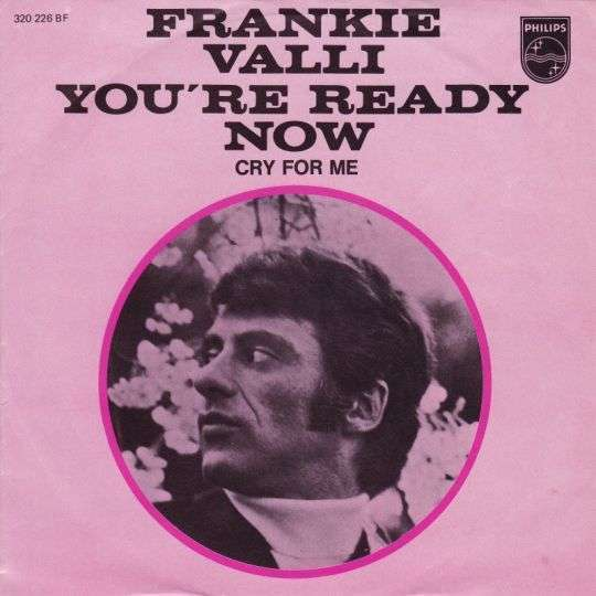 Coverafbeelding You're Ready Now - Frankie Valli