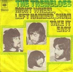 Coverafbeelding Right Wheel, Left Hammer, Sham - The Tremeloes