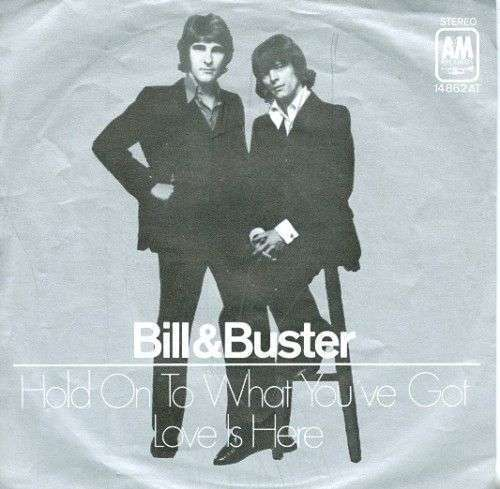 Coverafbeelding Bill & Buster - Hold On To What You've Got