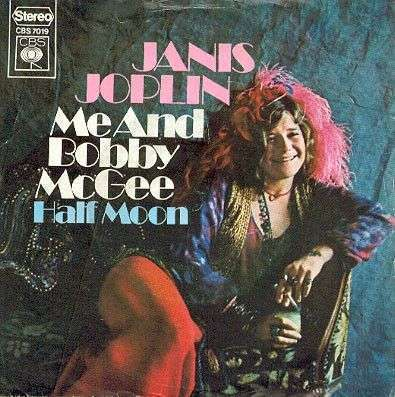 Coverafbeelding Janis Joplin - Me And Bobby McGee