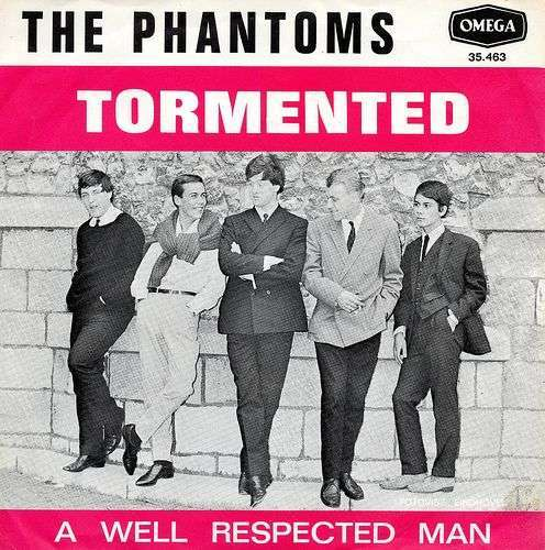 Coverafbeelding Tormented - The Phantoms