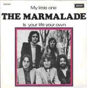 Coverafbeelding My Little One - The Marmalade