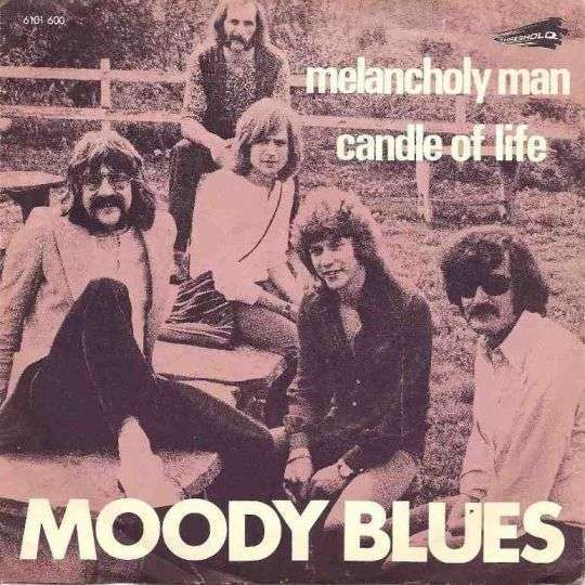Coverafbeelding Melancholy Man - Moody Blues