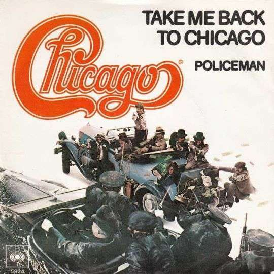 Coverafbeelding Take Me Back To Chicago - Chicago