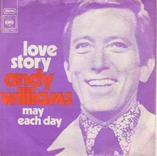 Coverafbeelding Love Story - Andy Williams