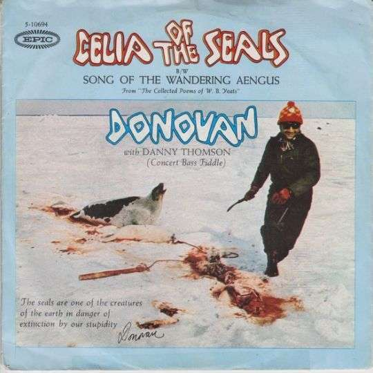 Coverafbeelding Celia Of The Seals - Donovan With Danny Thomson
