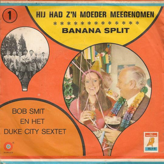 Coverafbeelding Banana Split - Bob Smit En Het Duke City Sextet