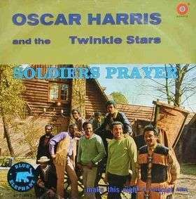 Coverafbeelding Soldiers Prayer - Oscar Harris And The Twinkle Stars