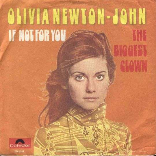 Coverafbeelding If Not For You - Olivia Newton-john