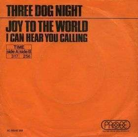 Coverafbeelding Three Dog Night - Joy To The World