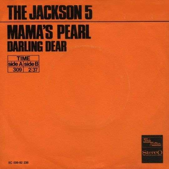 Coverafbeelding Mama's Pearl - The Jackson 5