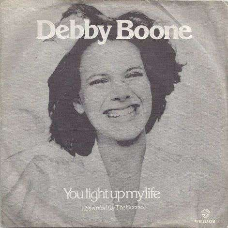 Coverafbeelding Debby Boone - You Light Up My Life