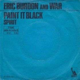 Coverafbeelding Paint It Black - Eric Burdon And War