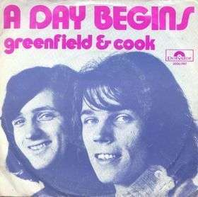 Coverafbeelding Greenfield & Cook - A Day Begins