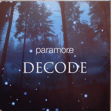 Coverafbeelding Decode - Paramore