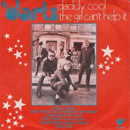 Coverafbeelding Daddy Cool - The Girl Can't Help It - Darts