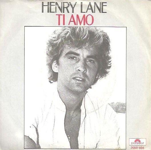 Coverafbeelding Henry Lane - Ti Amo
