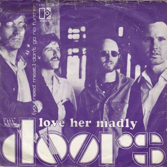 Coverafbeelding Love Her Madly - The Doors