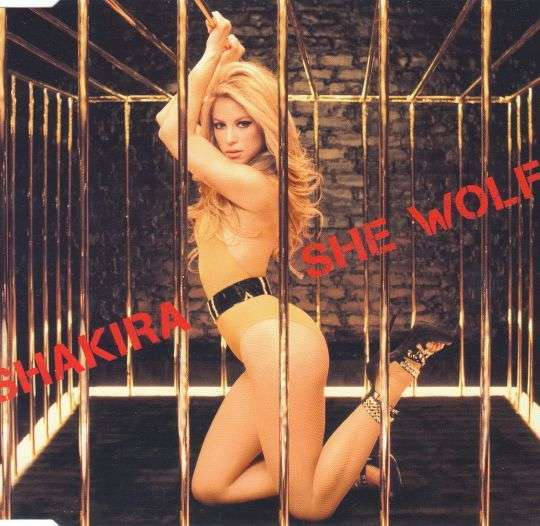 Coverafbeelding She Wolf - Shakira