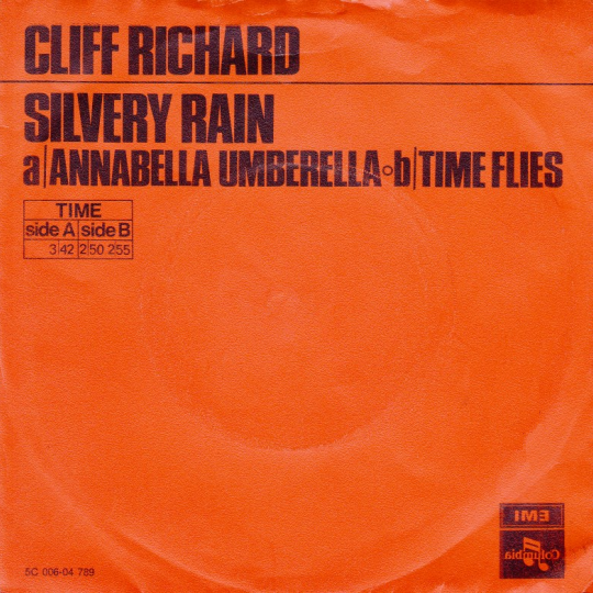 Coverafbeelding Silvery Rain - Cliff Richard