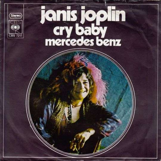 Coverafbeelding Cry Baby - Janis Joplin