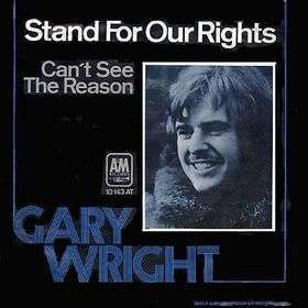 Coverafbeelding Stand For Our Rights - Gary Wright